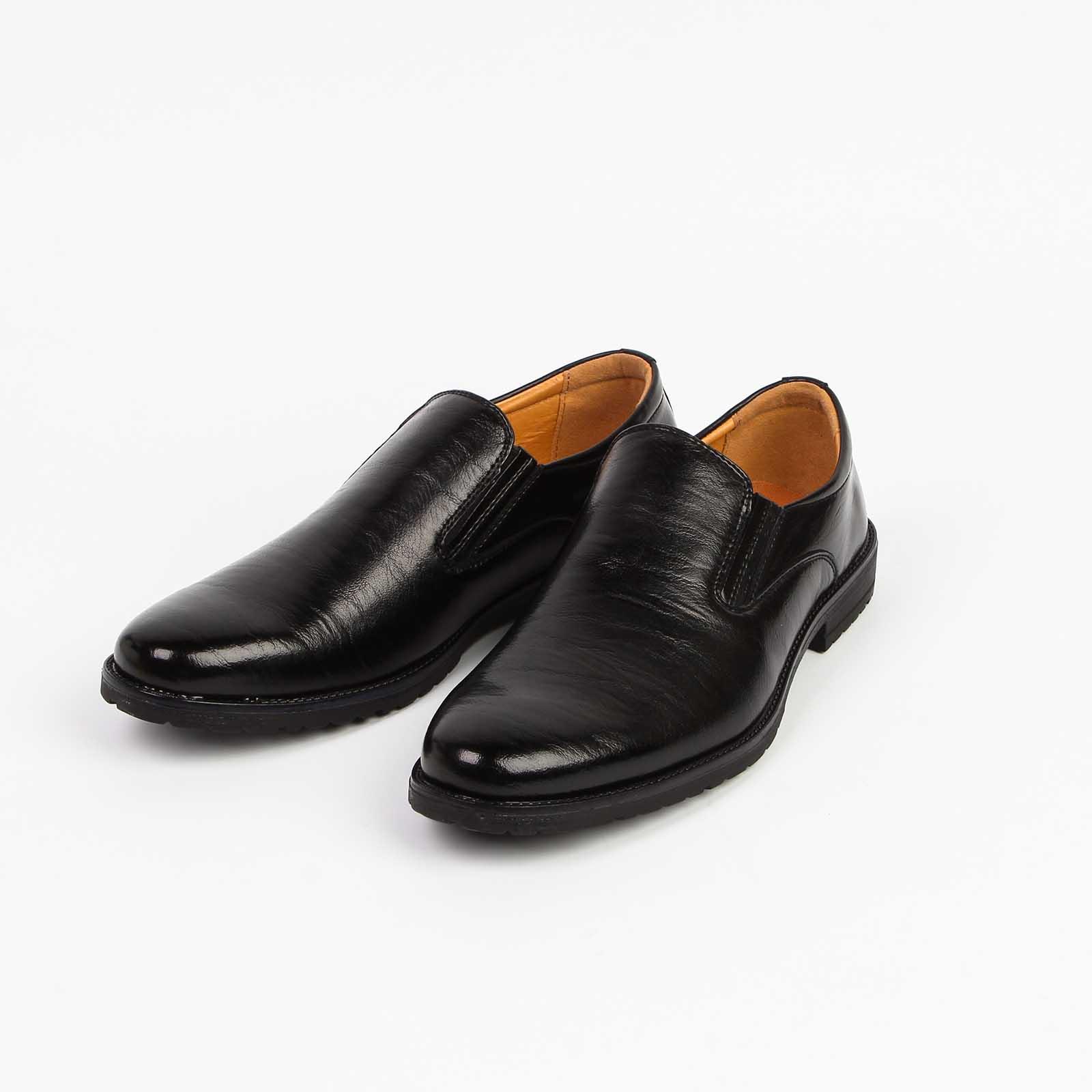 Туфли мужские с эластичными вставками