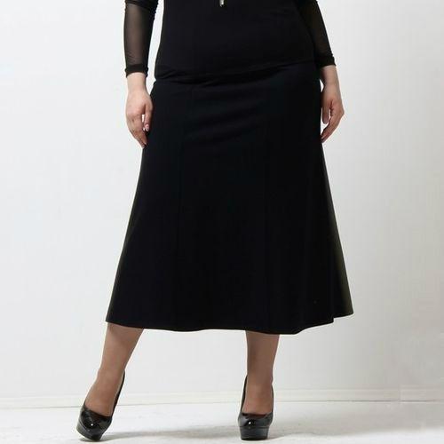 Расклешенная юбка-шестиклинка