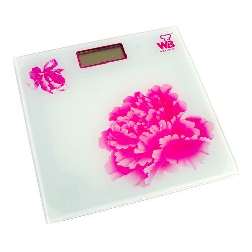 Весы напольные «Цветы»