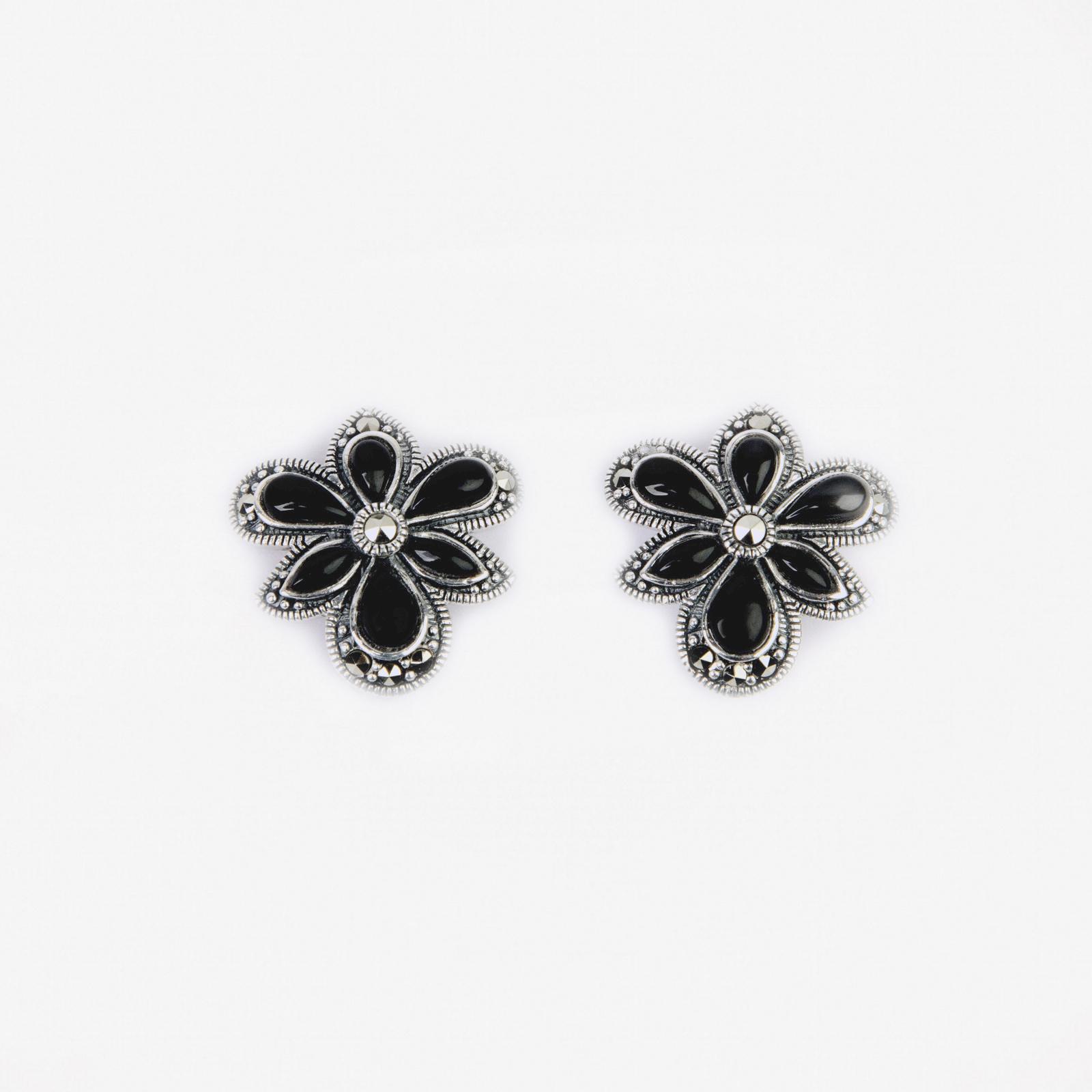 Серьги «Величественный цветок»