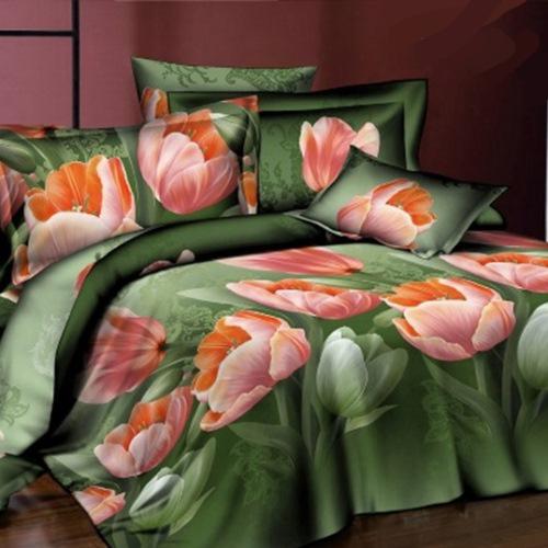Комплект постельного белья «Благородный тюльпан»