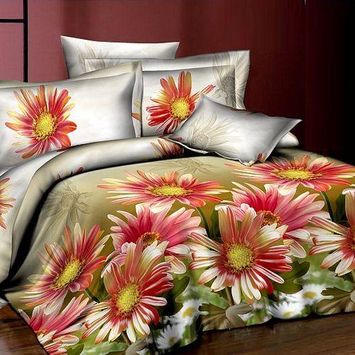 Комплект постельного белья «Солнечные герберы»