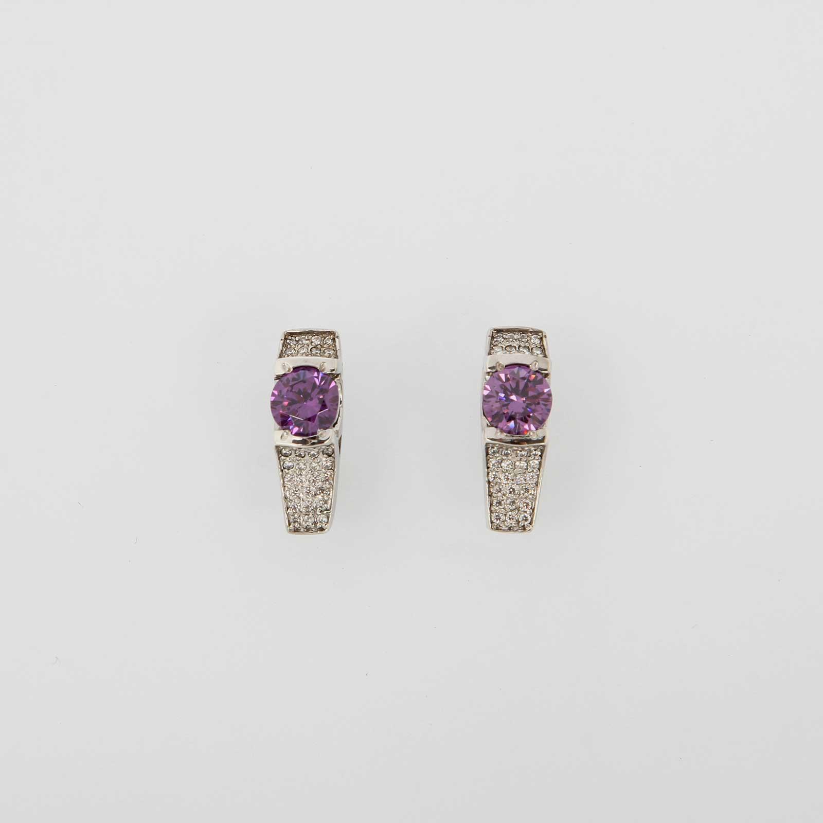 Серебряные серьги «Нинель»