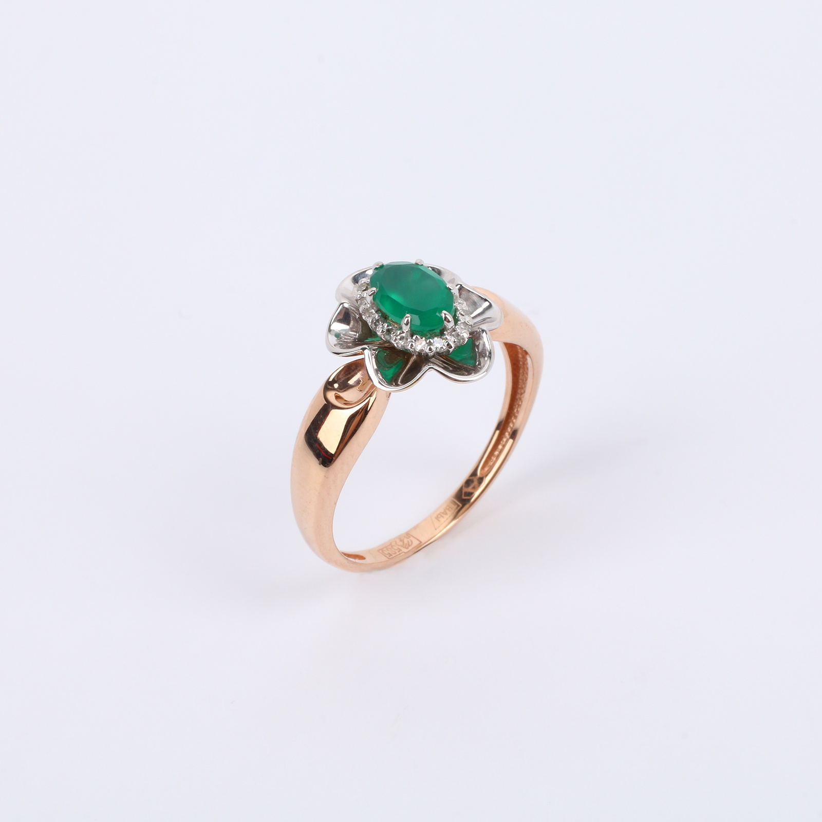 """Золотое кольцо """"Неповторимая Камилла"""""""