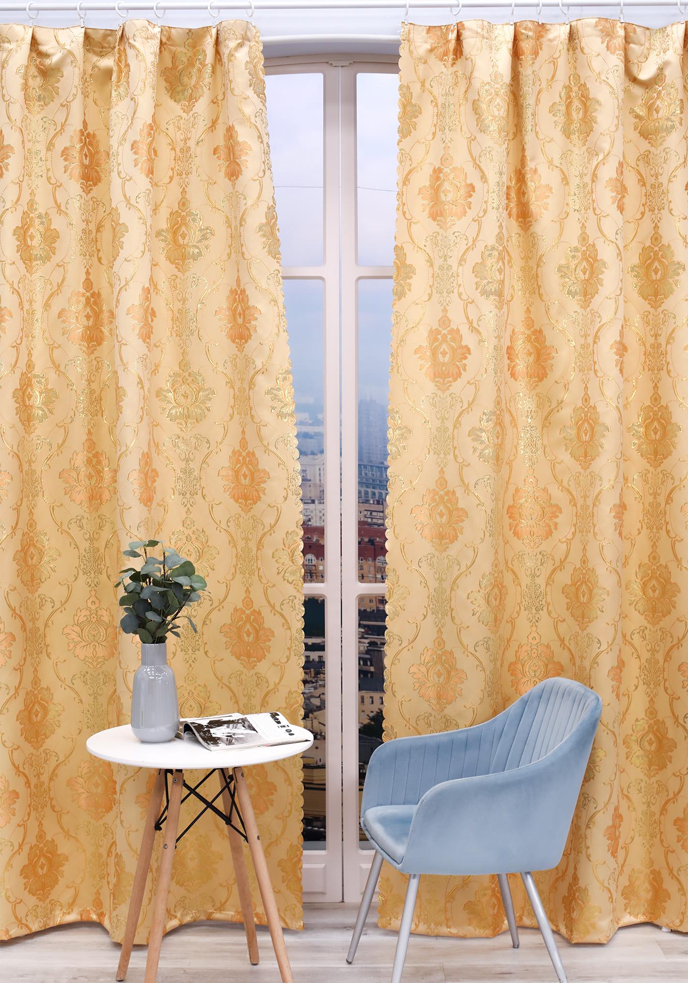 Комплект портьер Янтарная комната комплект портьер цветочный каприз