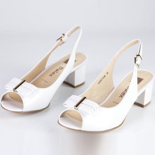 Босоножки женские на удобном каблуке