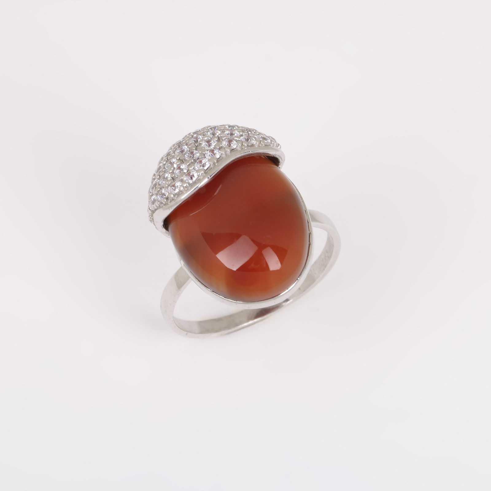 Серебряное кольцо «Талисман»