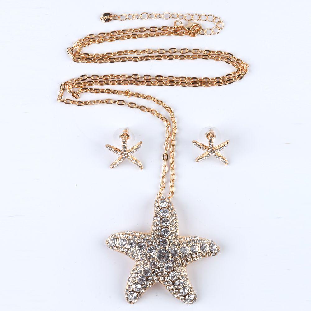 Комплект украшений «Морская звезда»