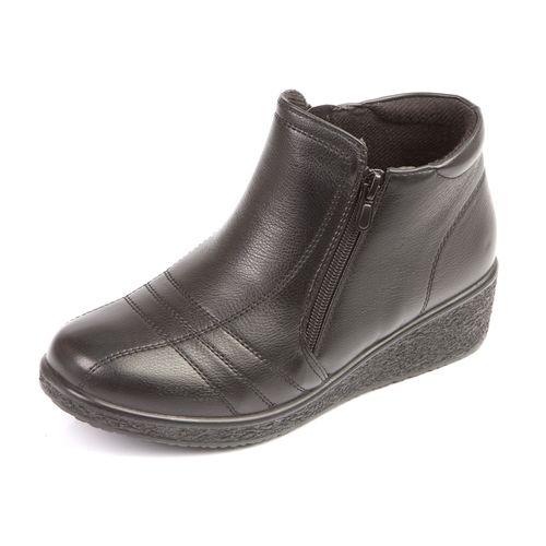 Женские ботинки на утолщенной подошве