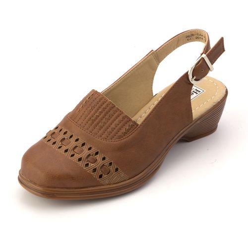 Туфли с открытой пяткой и эластичной вставкой