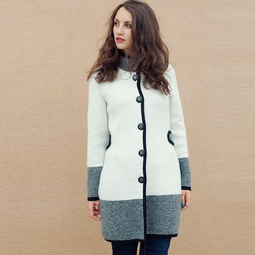 Вязаное пальто «Шарм»