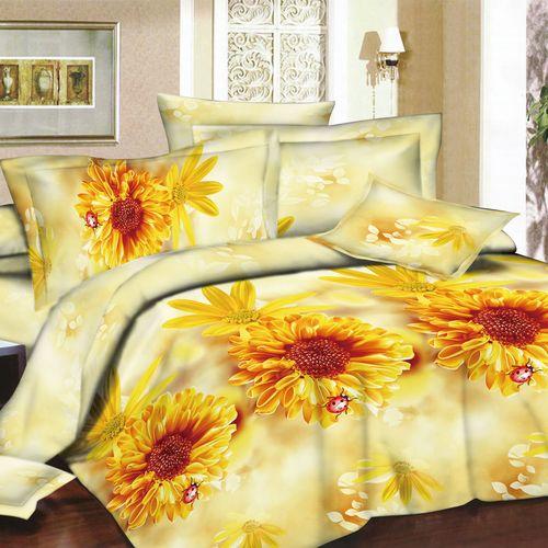 Комплект постельного белья «Золотые цветы»