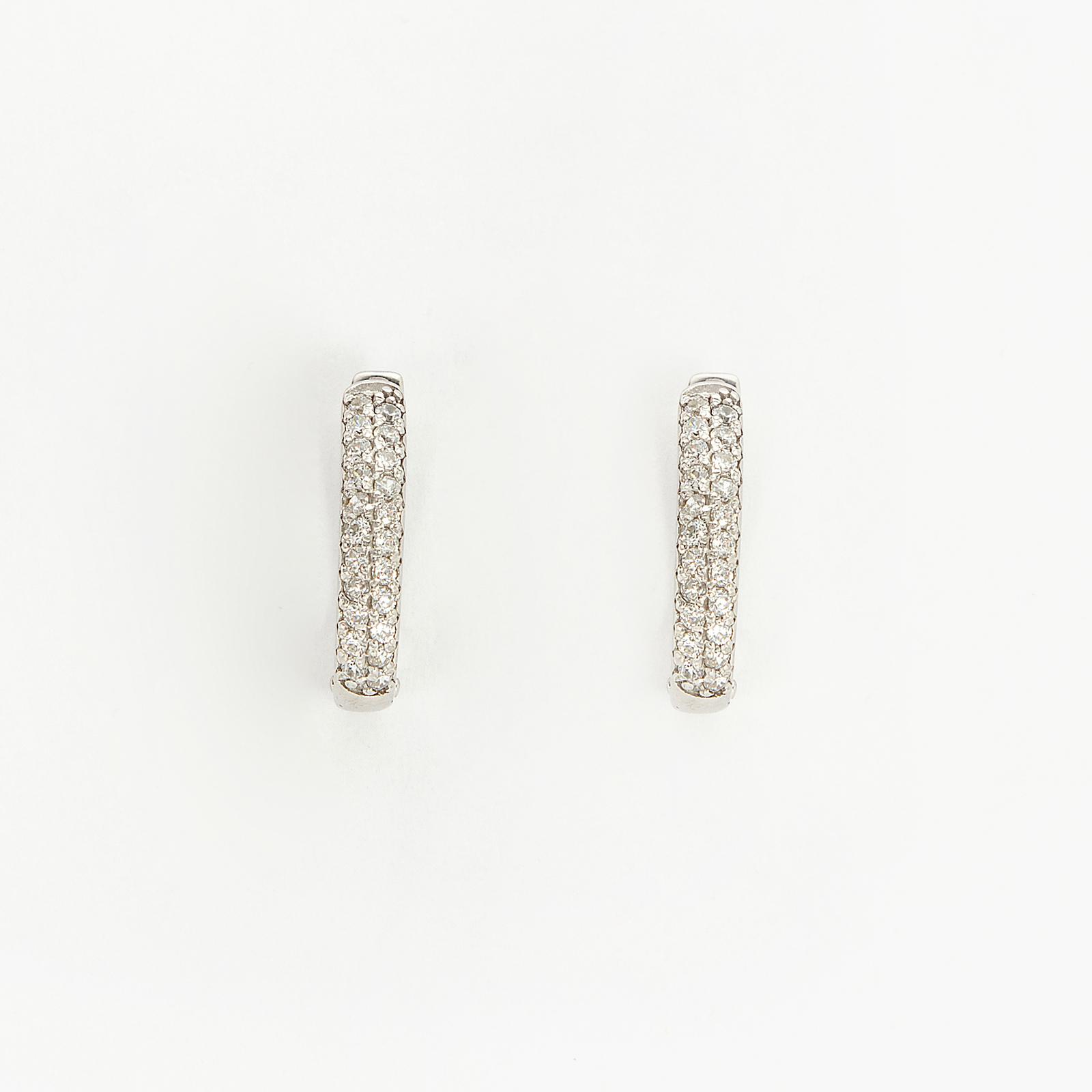 Серебряные серьги «Счастье Амели»