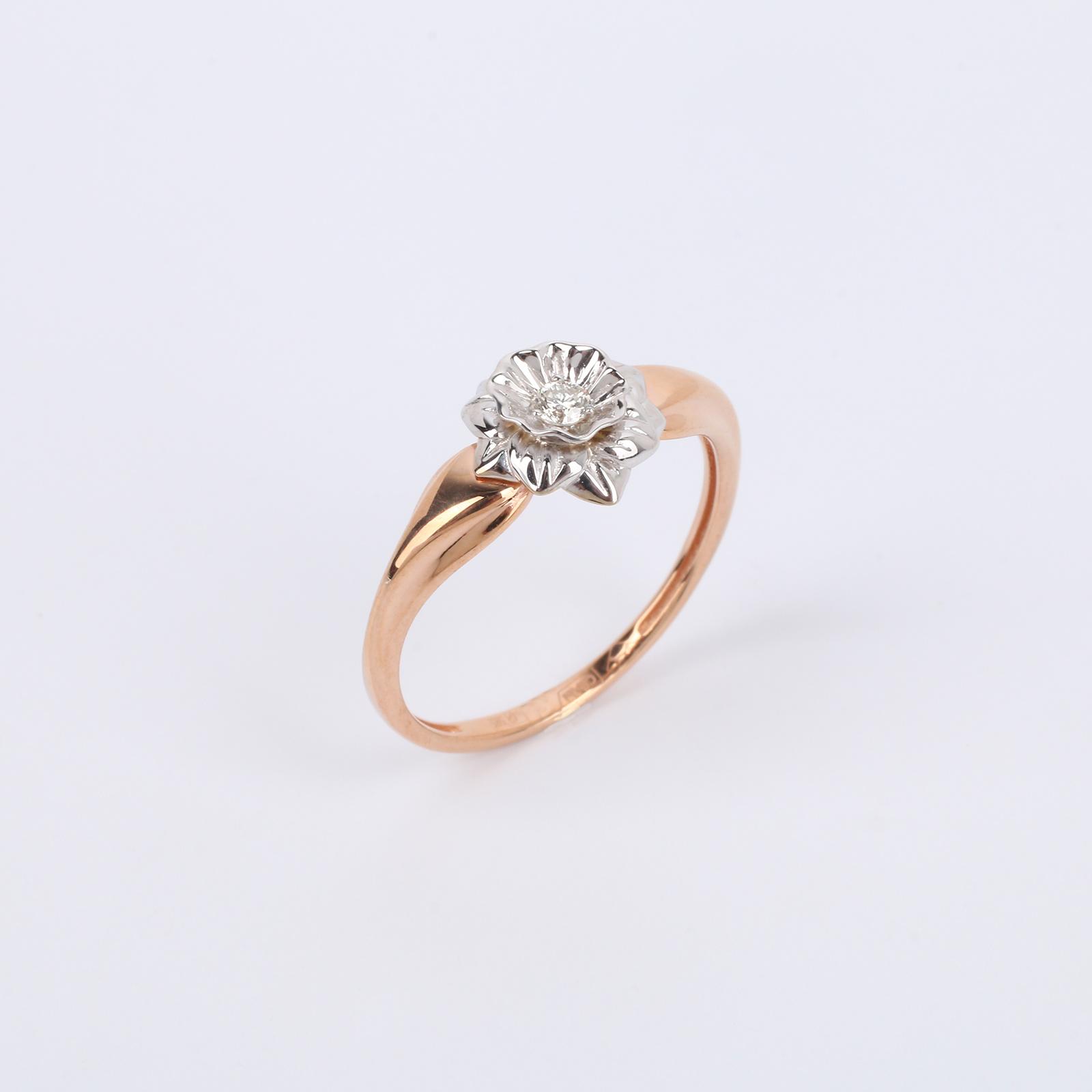 """Золотое кольцо """"Притягательная Роза"""""""