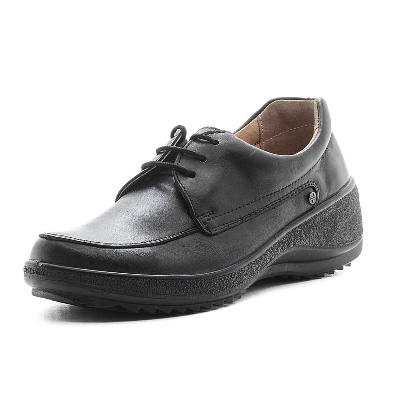 Женские туфли со шнуровкой на танкетке обувь shoiberg