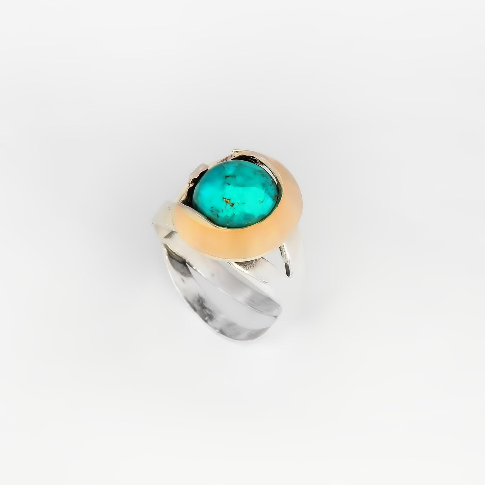 Серебряное кольцо «Путешествие из Петербурга»