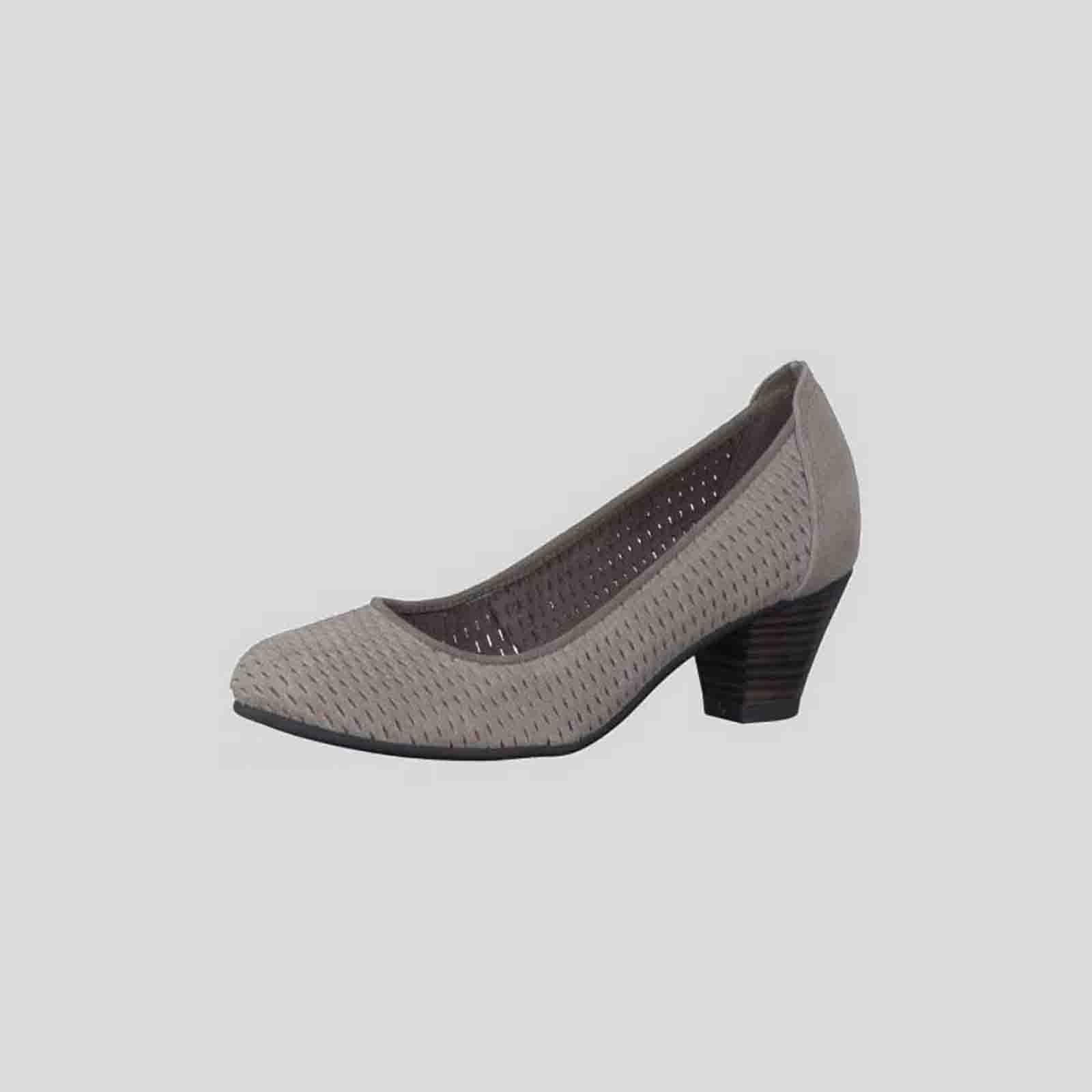 Туфли женские из натуральной кожи с оригинальной перфорацией