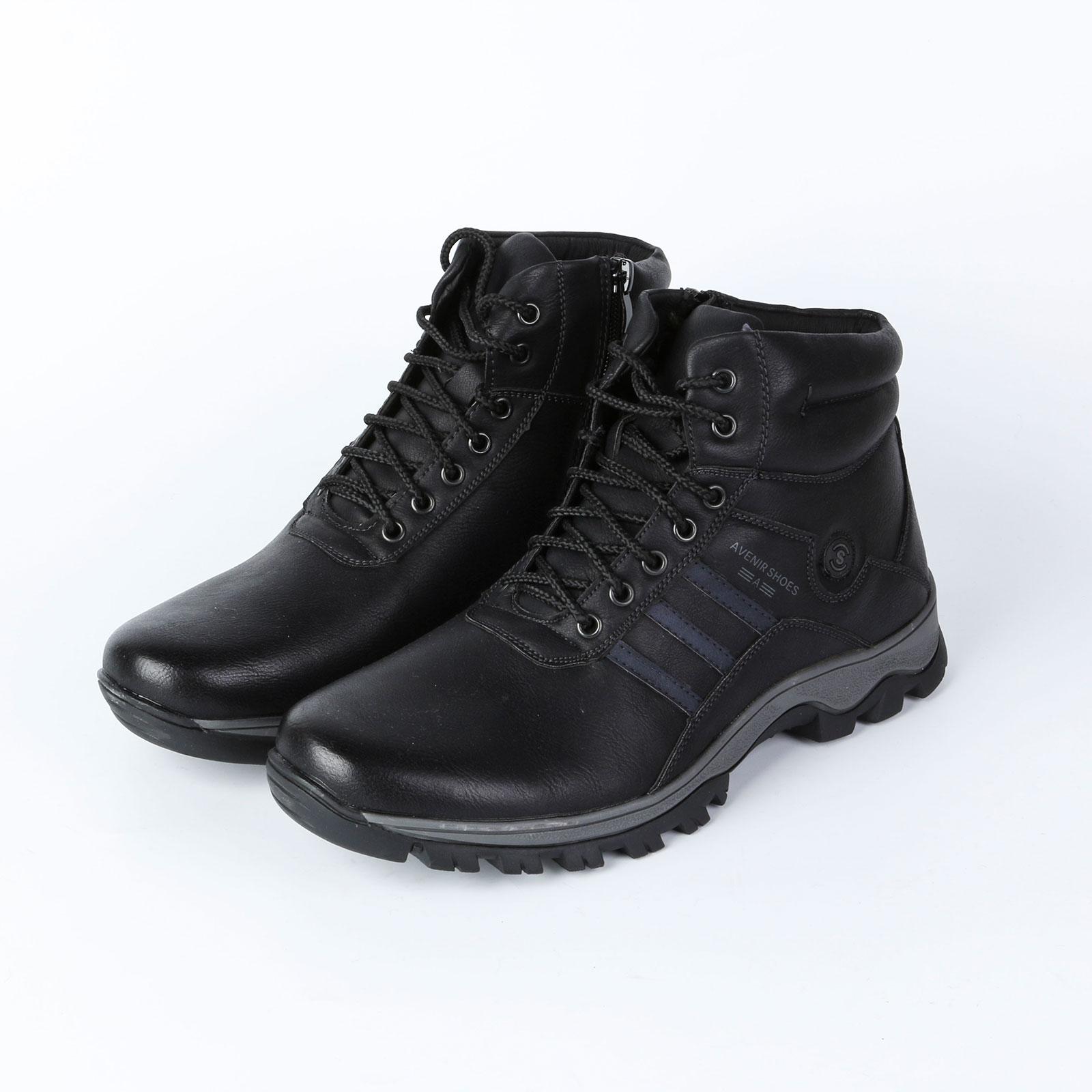 Ботинки мужские на шнурках