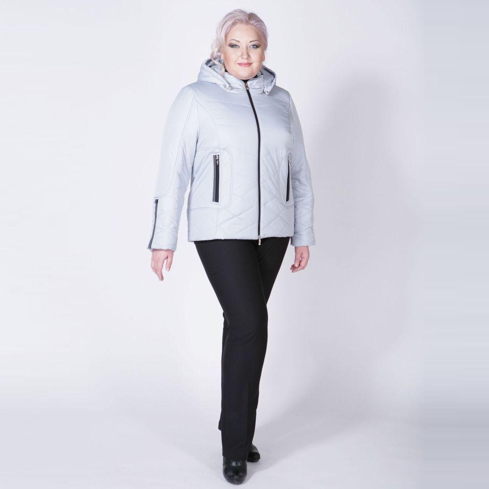 Куртка с контрастной отделкой в спортивном стиле
