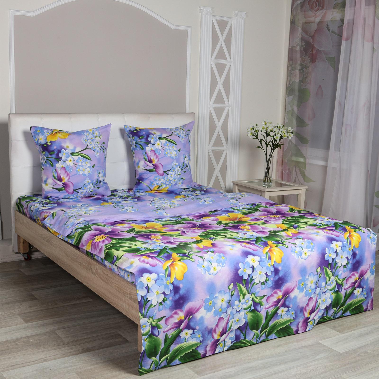Комплект постельного белья «Фиалковое утро»