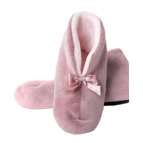 Домашние тапочки «Розовые бантики»