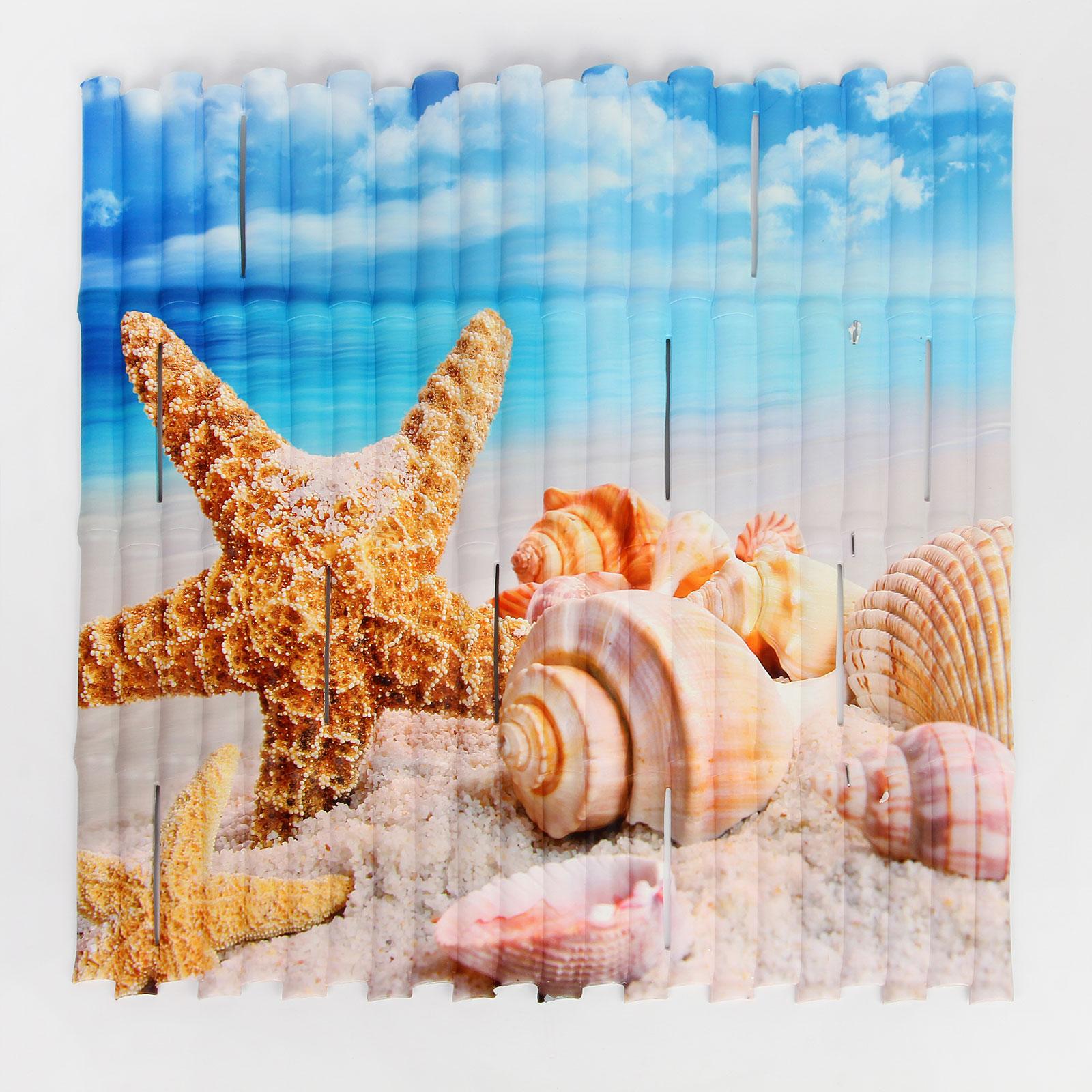 Коврик противоскользящий в ванну «Морская звезда»