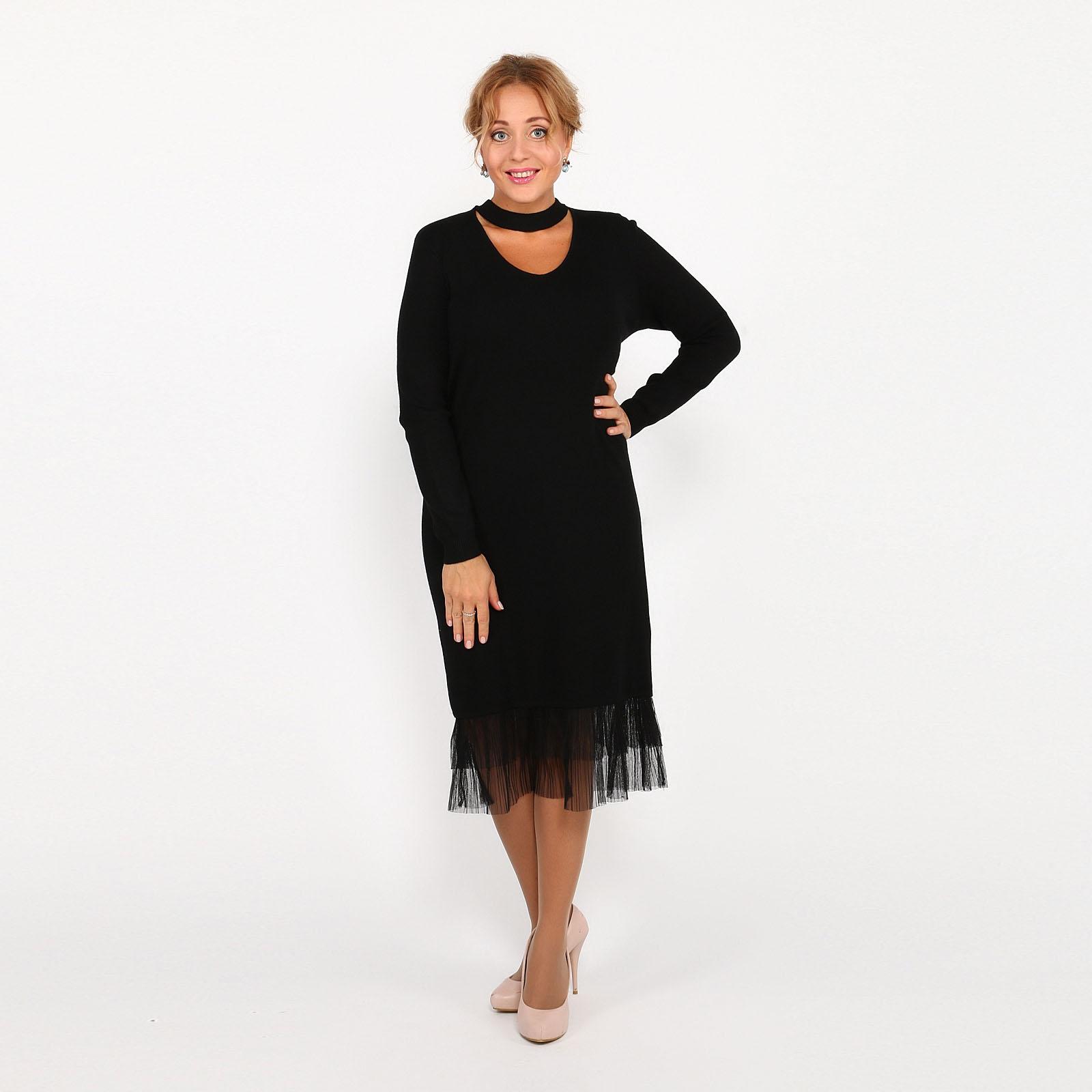 Платье трикотажное оригинального дизайна кардиган pettli collection pettli collection pe034ewvvz23