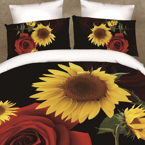 Комплект постельного белья «Цветочный дуэт»