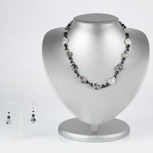 Комплект украшений «Черная жемчужина»