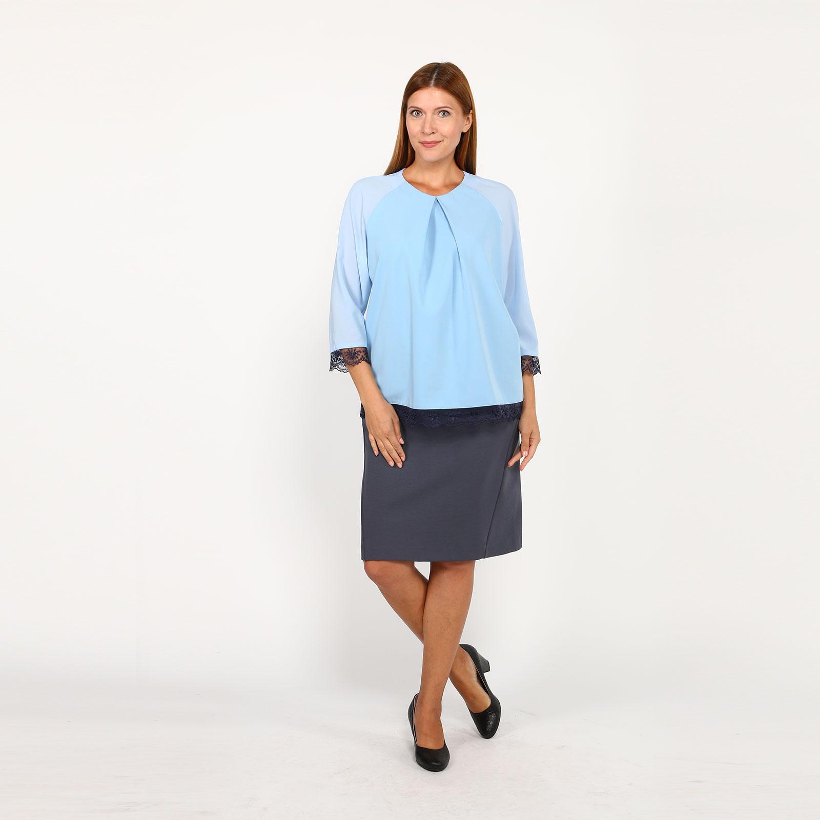 Блуза с рукавом реглан и кружевом рубашка gerry weber gerry weber ge002ewwra96