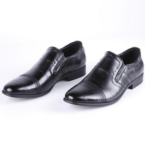 Туфли мужские с эластичными вставками по бокам