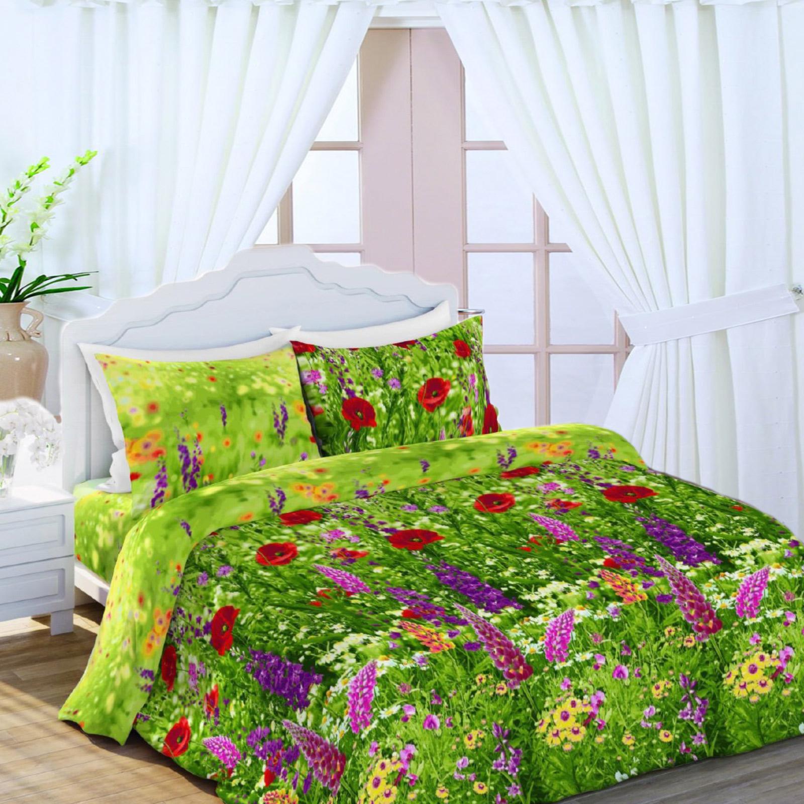 Комплект постельного белья «Люпины»