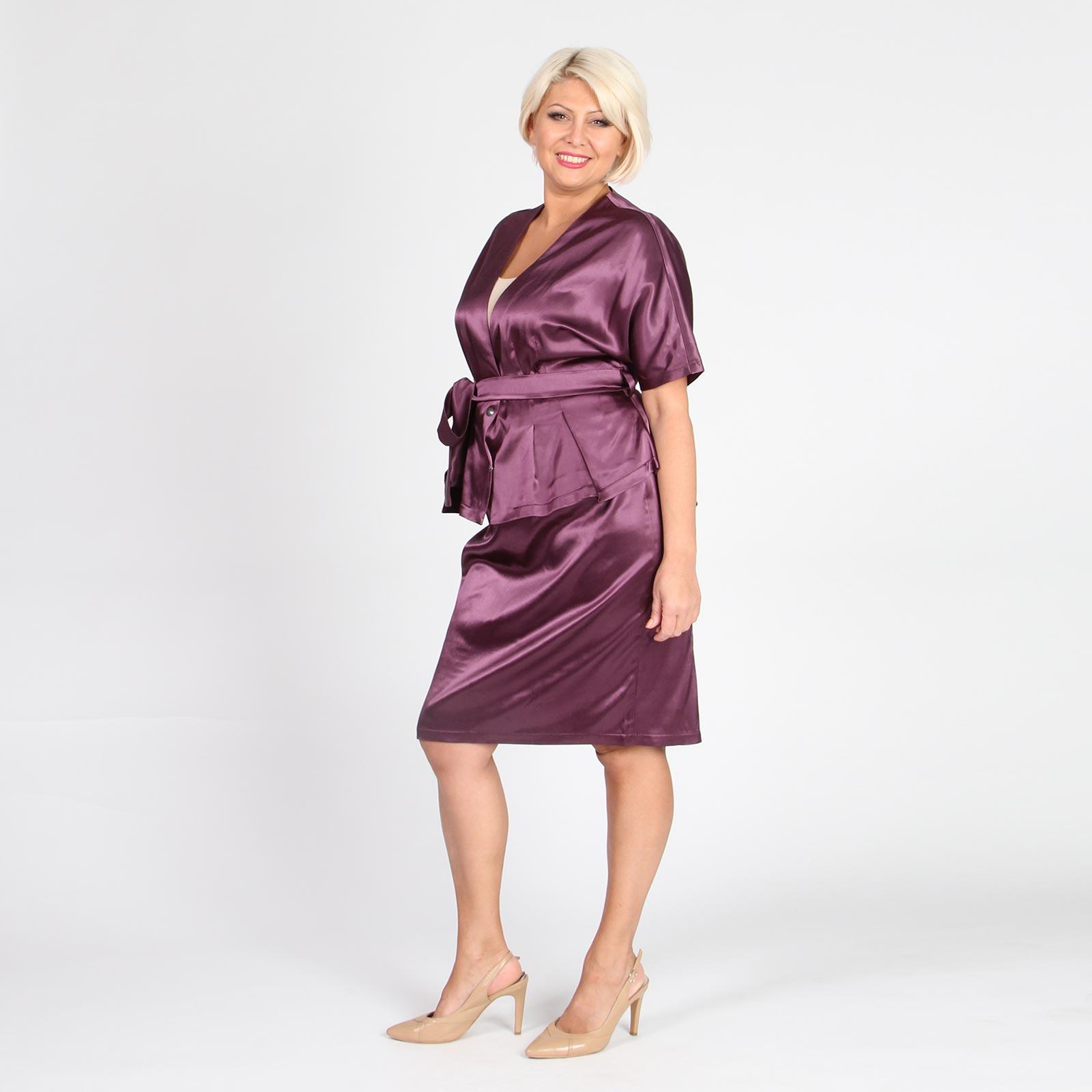 Атласная юбка доставка