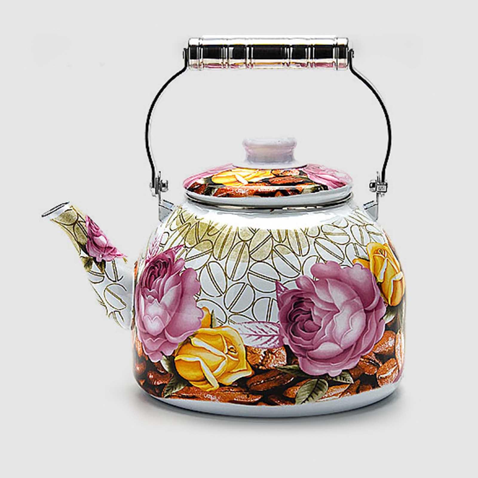 Эмалированный чайник 5 литров