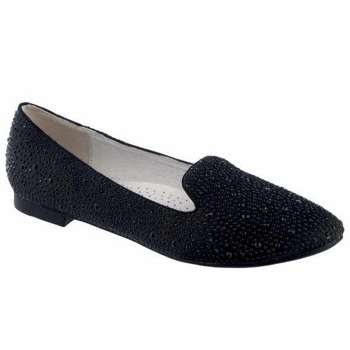 Женские туфли с россыпью сверкающих кристаллов