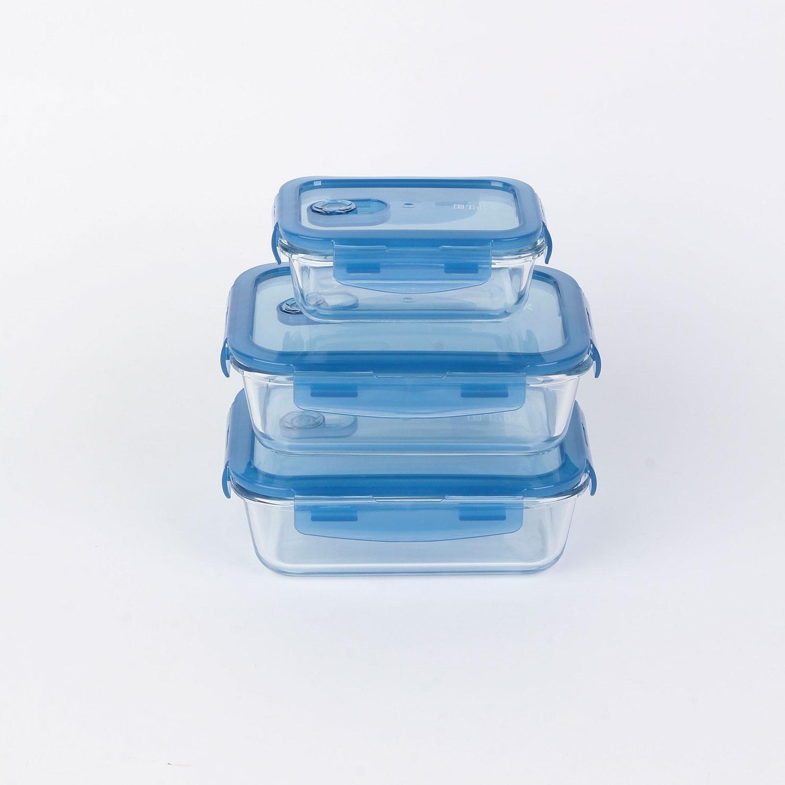 Набор контейнеров из жаропрочного стекла