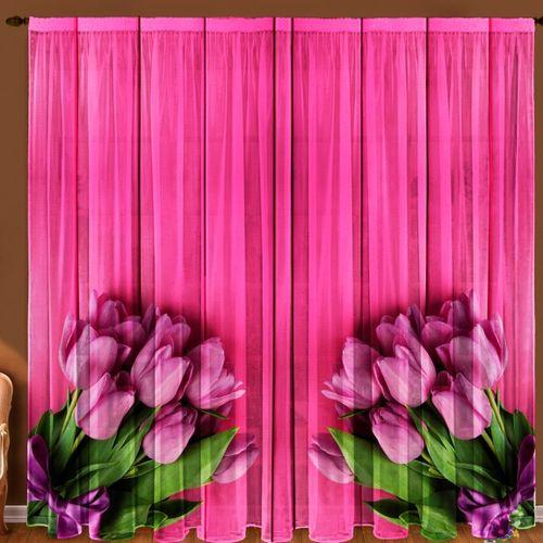 Комплект штор «Тюльпаны»