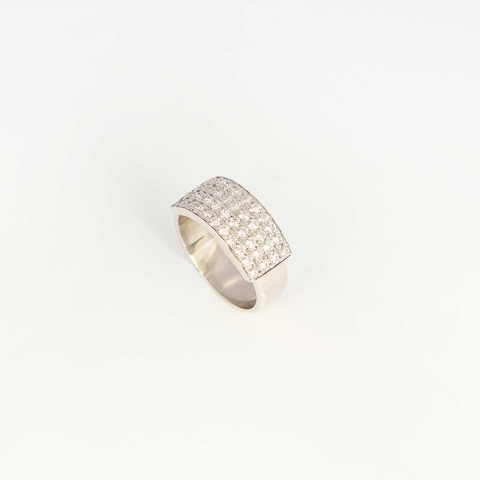 Серебряное кольцо «Берта»