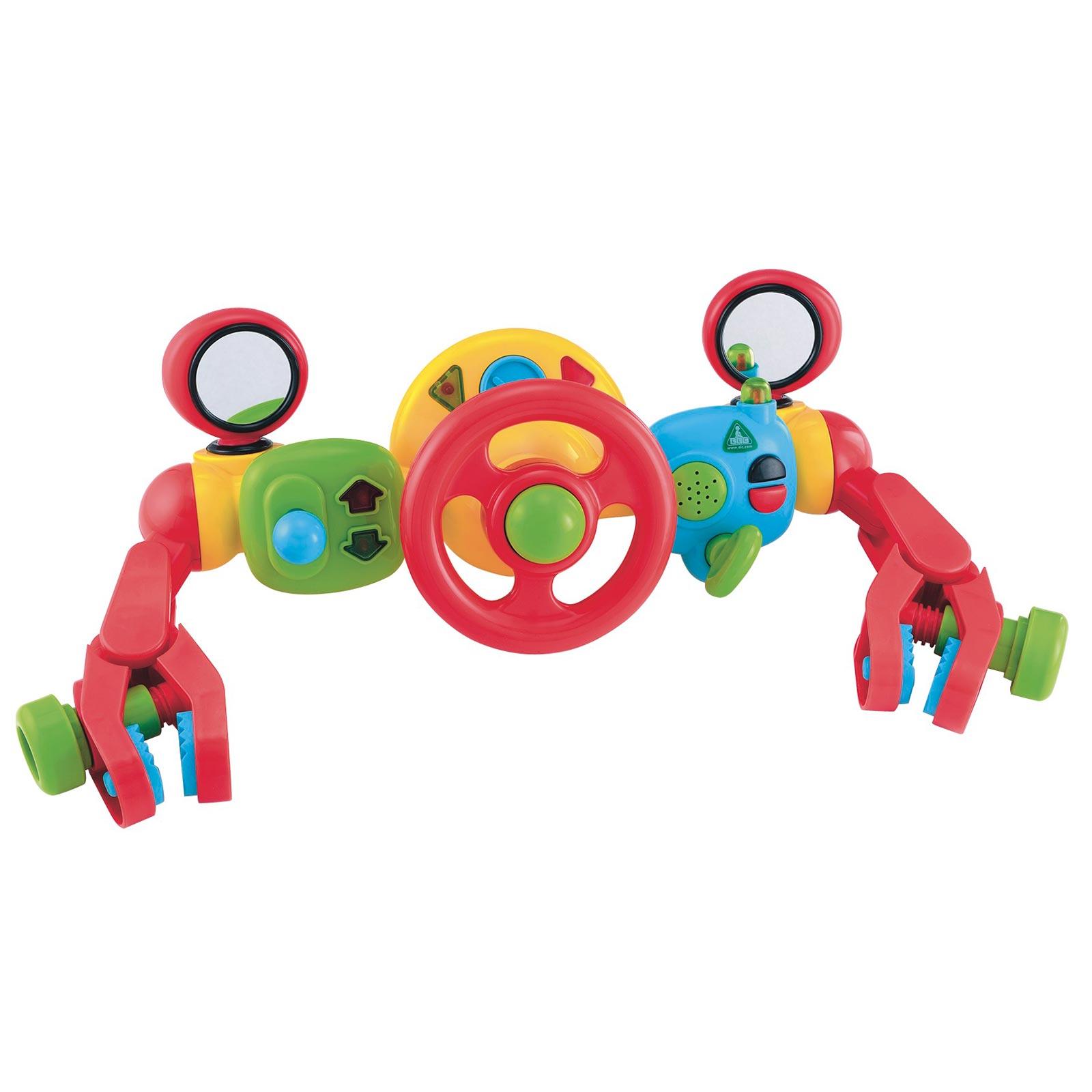 Игрушка на коляску «Руль управления для малыша»