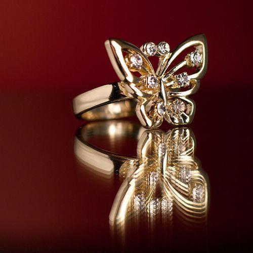 Кольцо «Бабочка»