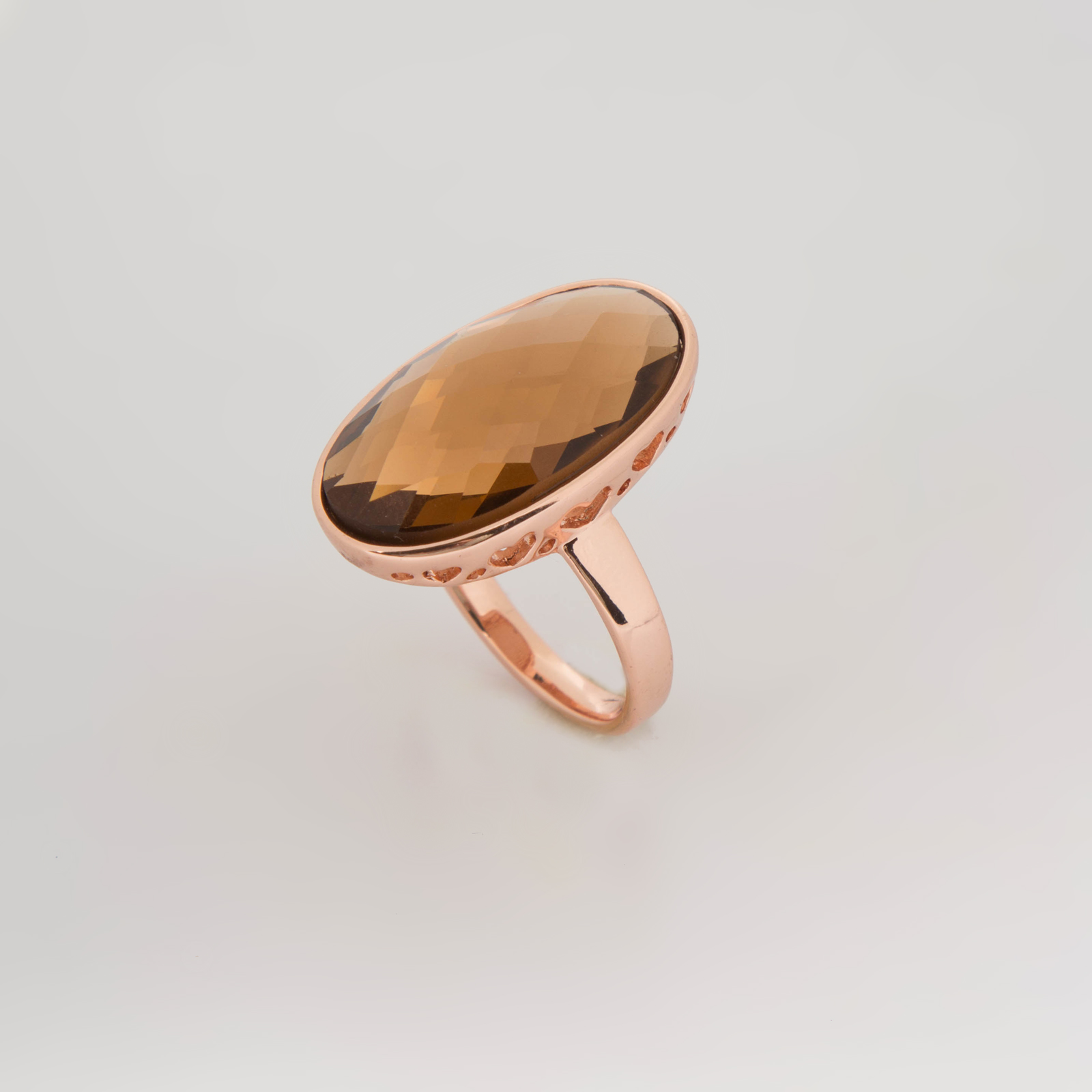 Кольцо «Бронзовая изысканность»