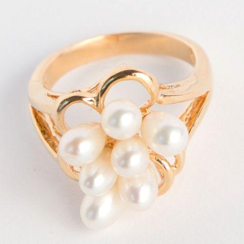 Кольцо «Жемчужная капель»