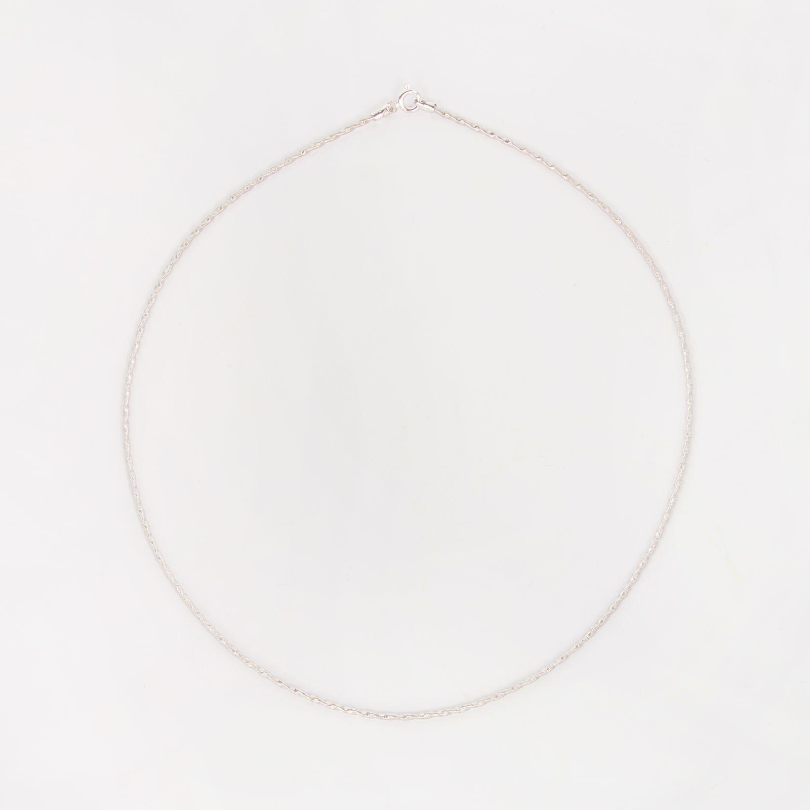 Серебряная цепь «Вечность»