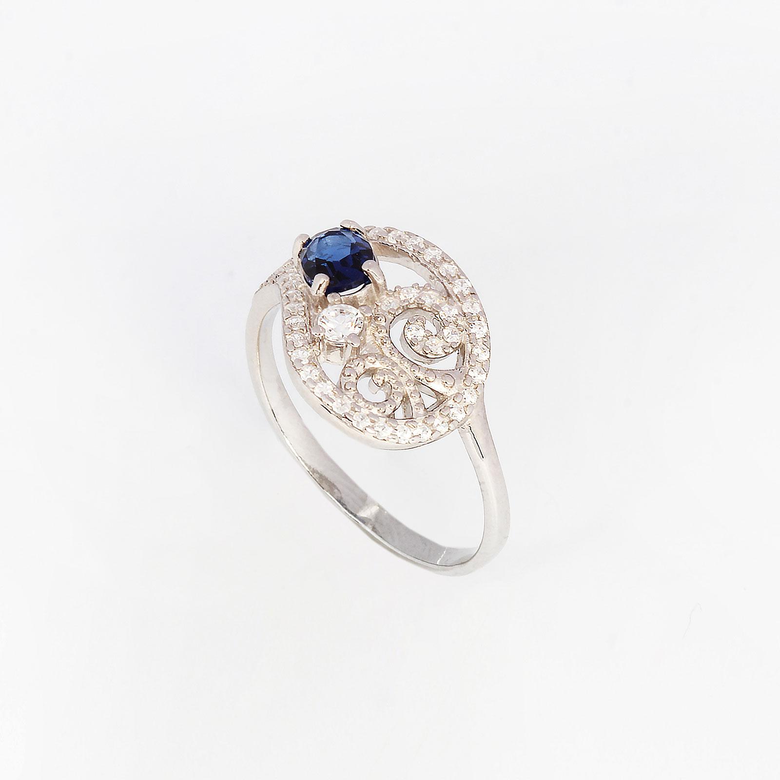 Серебряное кольцо «Сентиментальность»
