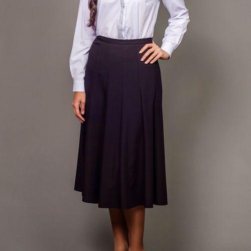 Элегантная юбка расклешенного покроя