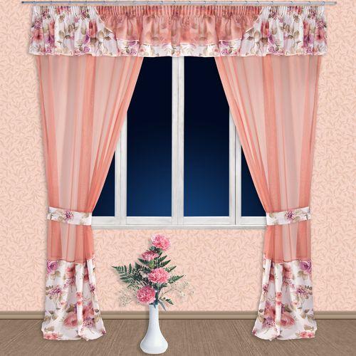 Комплект штор + ламбрекен «Романтика»
