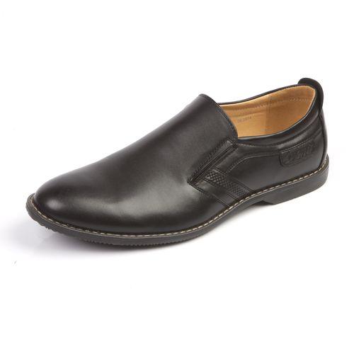 Мужские туфли декорированные строчкой