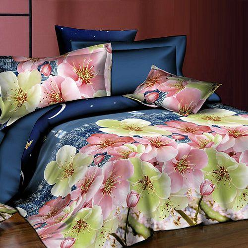 Комплект постельного белья «Городские цветы»
