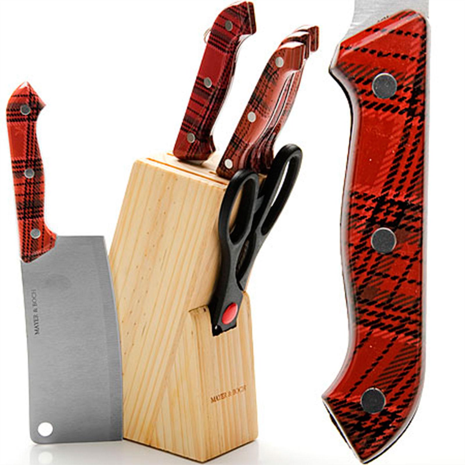 Набор ножей из быстрорежущей стали