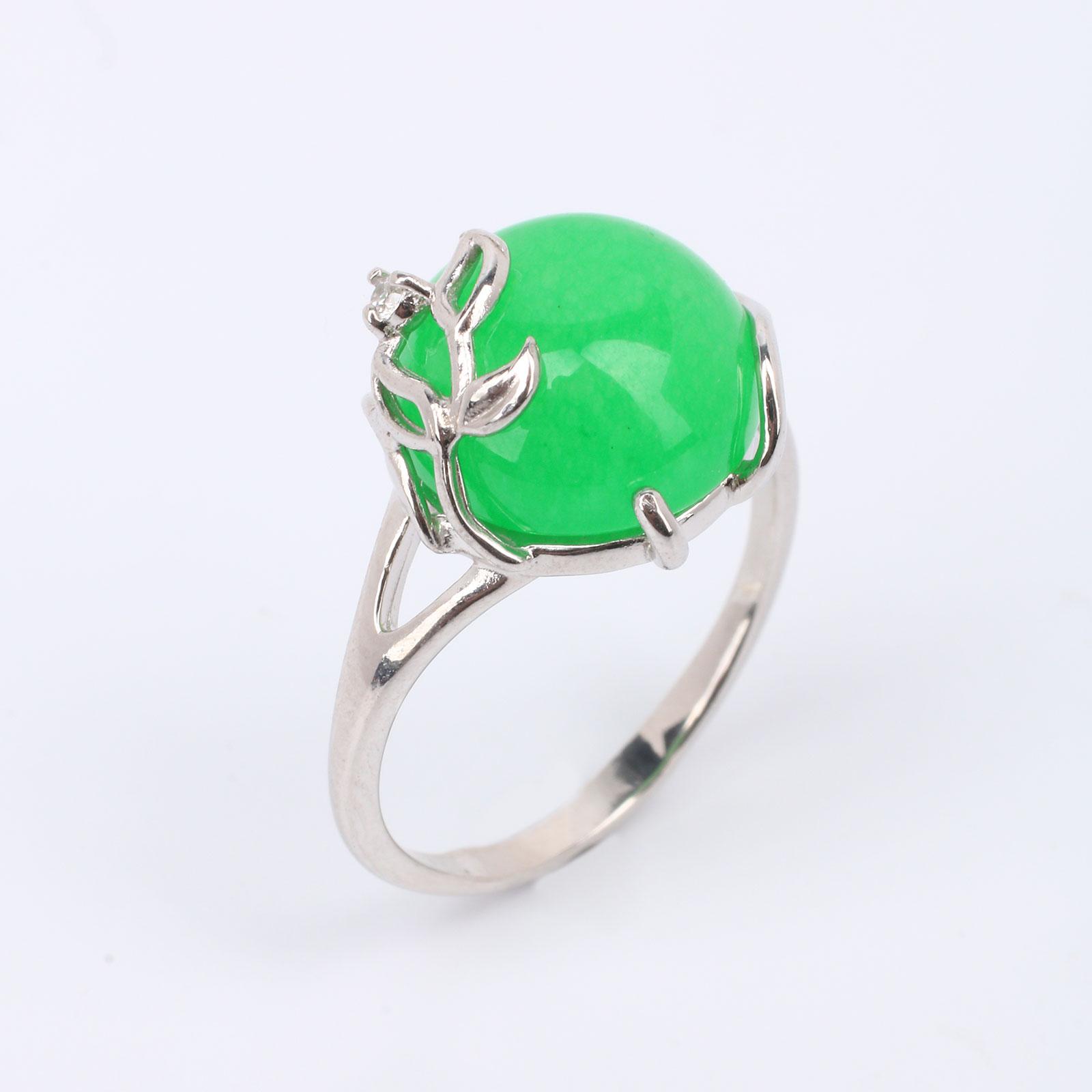 Серебряное кольцо «Нежность весны»